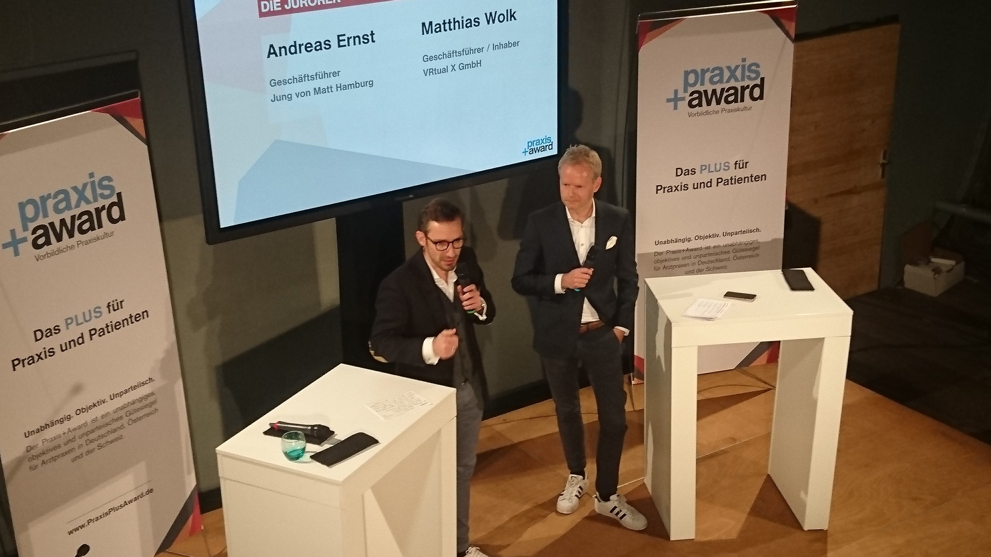 Virtual Reality beim Praxis+Award