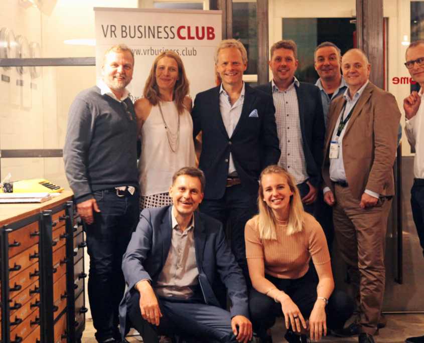 Diskussion im Virtual Reality Business Club